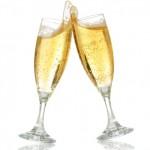 Champagne 150x150 Noite de Autógrafos